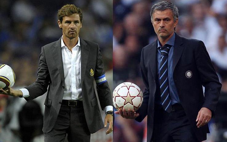 Andre Villas Boas i Jose Mourinho
