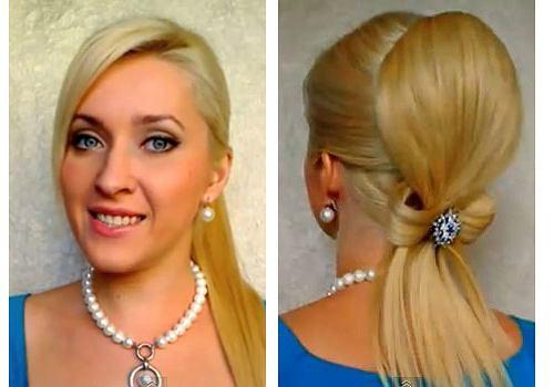 Ślubna fryzura - instruktaż wykonania