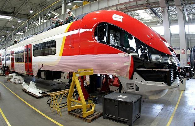 Nowy pociąg dla SKM w bydgoskiej fabryce PESY