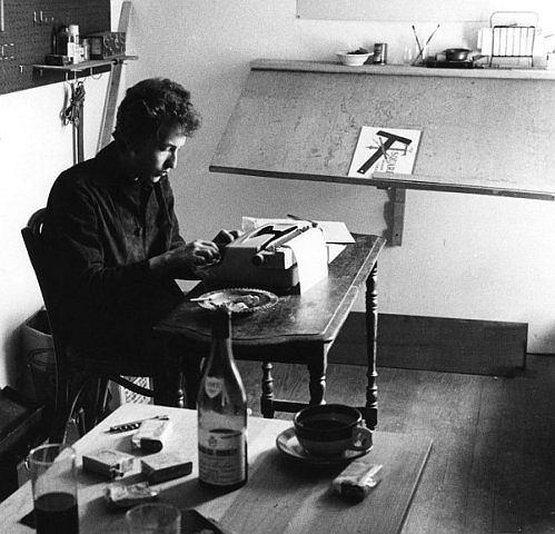 Bob Dylan, fot.Douglas R Gilbert