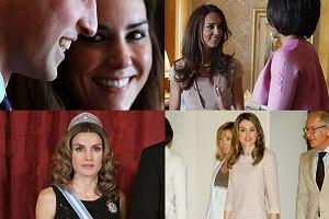 Księżna Kate i księżna Letizia