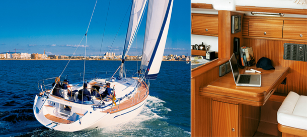 żagle,jacht, AVARIA 49