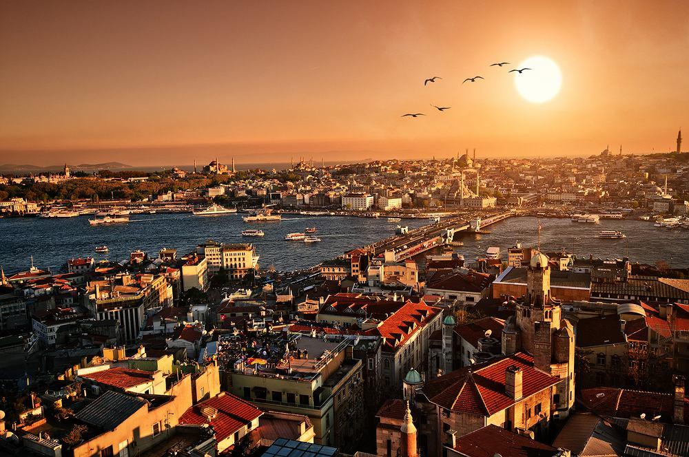 Bosfor, Stambuł, Turcja