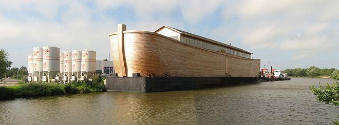 Arka projektu Johana Huibersa, która w przyszłym roku może dopłynąć do Londynu