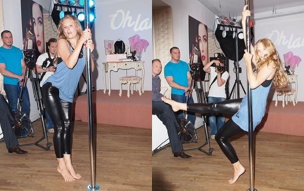 Pole dance - czyli taniec na rurze z tematu tabu stał się sposobem na utrzymanie pięknej figury. Pole dance robi w Polsce furorę. Jak się okazuje fanką takiego tańca jest Julia Pietrucha, która wystąpiła na otwarciu szkoły burleskii pole dane Oh Lala.
