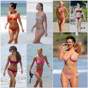 7 gwiazd w bikini - która wygląda najlepiej, bikini bodies, stroje kąpielowe