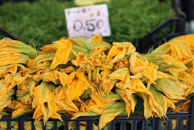 Kwiaty cukinii - czy wiesz, że są przysmakiem Włochów?