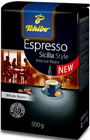 kawa,Tchibo, Espresso, Sicilia Style
