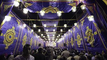 Wiec wyborczy Bractwa Muzułmańskiego w Kairze