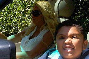 Katie Price z synem Harveyem