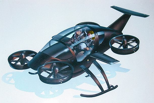 Hybrid aircar