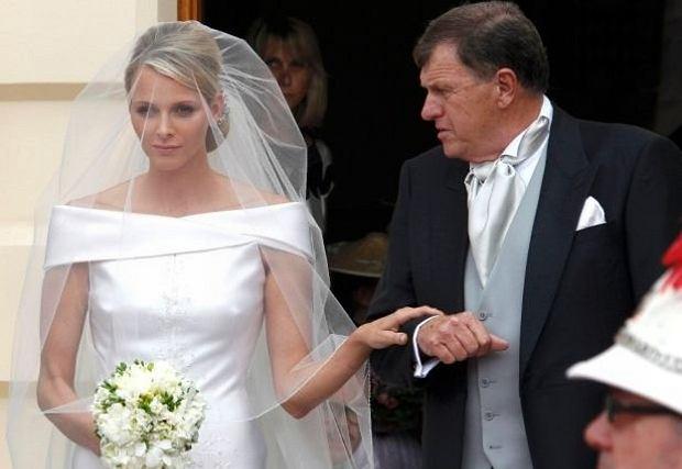 Charlene Wittstock i książę Albert II