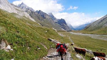 Trekking wokół Mont Blanc to jedna z najpiękniejszych tras trekkingowych w Europie