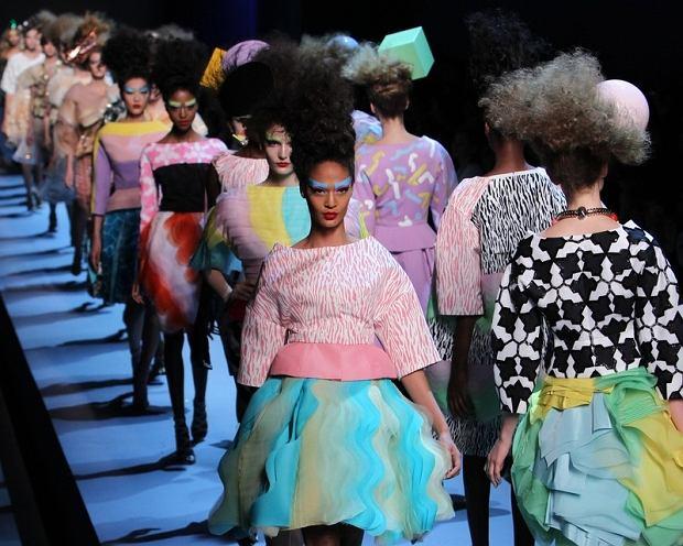 pokaz haute couture Dior jesień/zima 2011/12