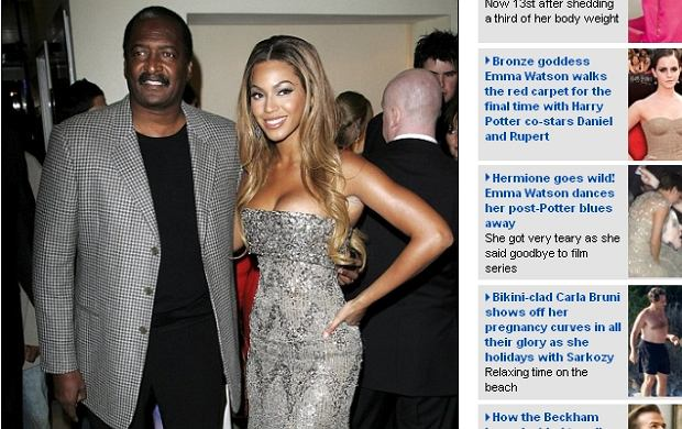 Mathew Knowles, Beyonce.