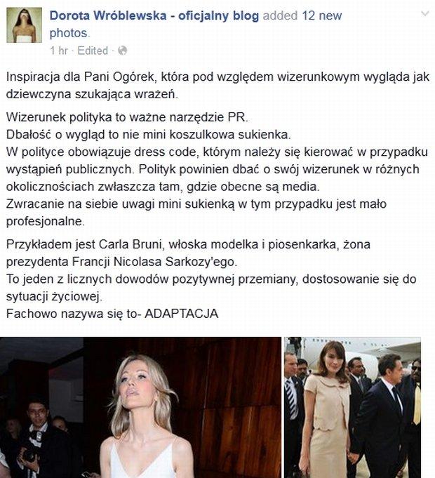 Blog Doroty Wróblewskiej