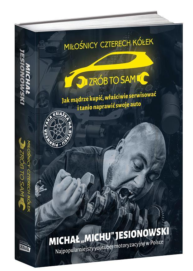 Michał Michu Jesionowski - okładka książki 'Miłośnicy czterech kółek'