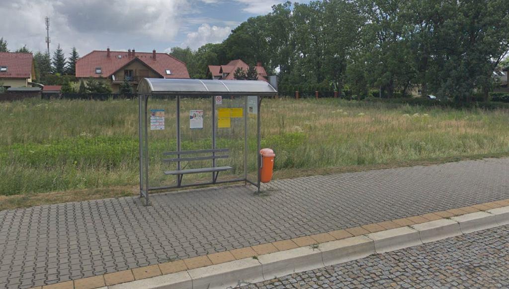 Przystanek autobusowy w Lesznie. Zdjęcie ilustracyjne