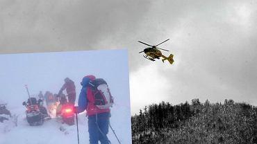Akcja ratowników GOPR w Bieszczadach