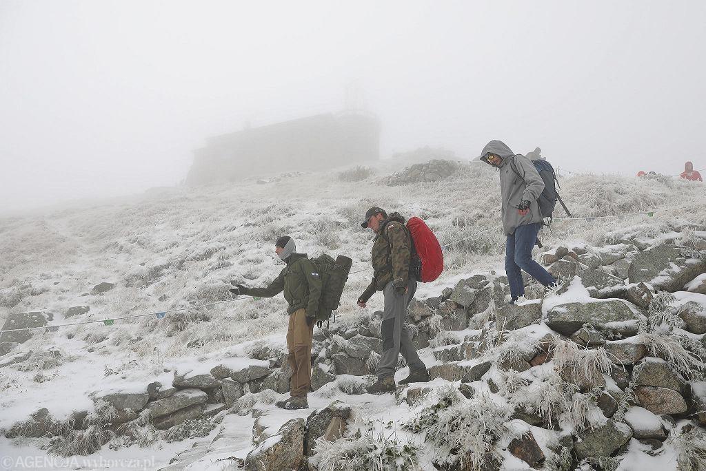 Tatry, Kasprowy Wierch - wrześniowy śnieg