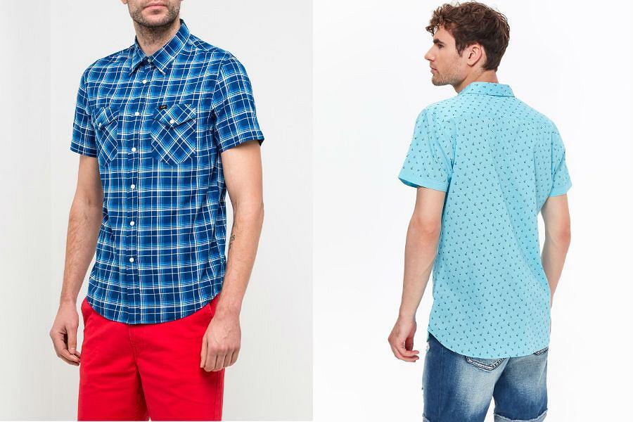Koszule męskie z krótkim rękawem