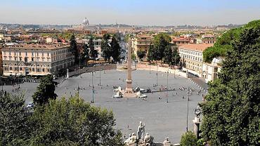 Piazza del Popolo w Rzymie