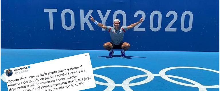 Trafił na Djokovicia w 1. rundzie igrzysk. I jego reakcja powaliła na ziemię