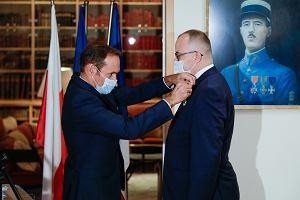 Adam Bodnar kawalerem francuskiego Orderu Legii Honorowej