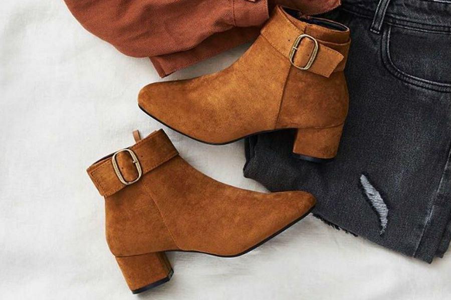 camelowe ubrania