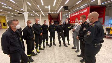 Polscy strażacy dostarczyli osuszacze do Nadrenii Północnej-Westfalii