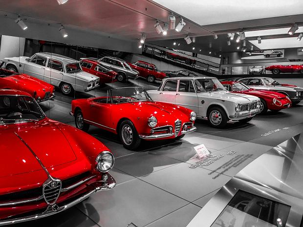 Włoska robota - Alfa Romeo od 24HP do Stelvio