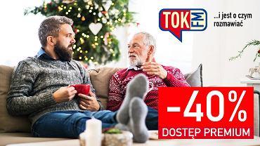 Słuchaj TOK FM w internecie - z okazji świąt 40% taniej! Bo jest o czym rozmawiać