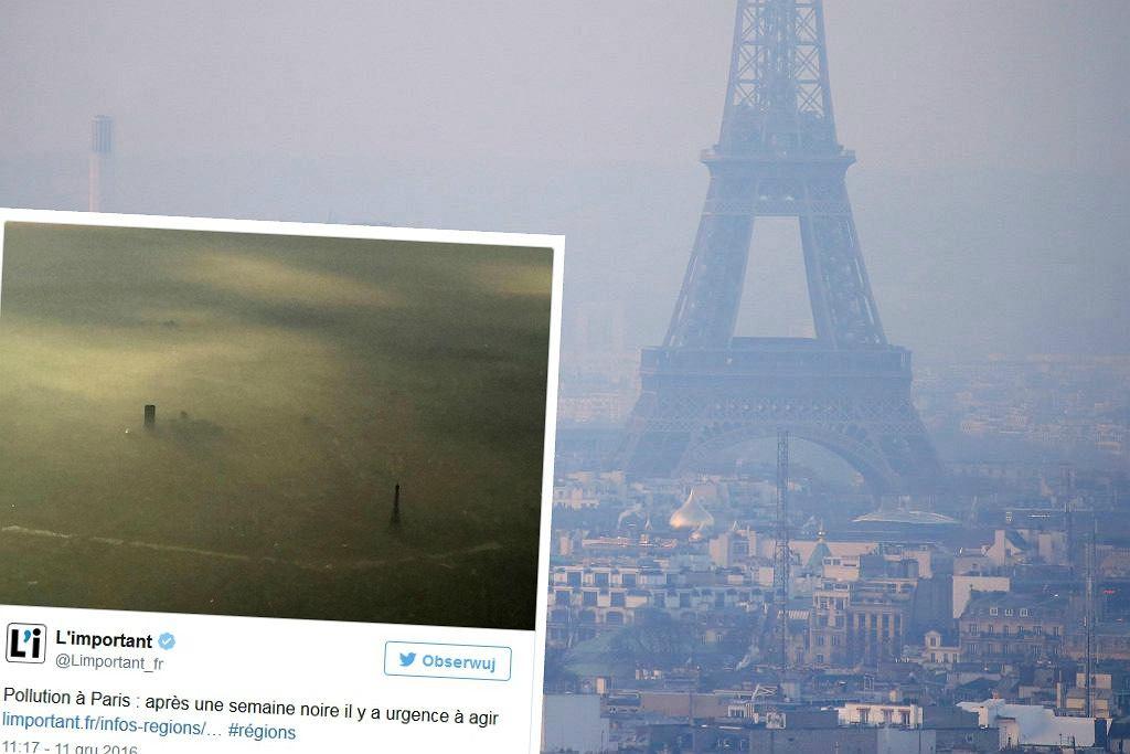 Smog nad Paryżem