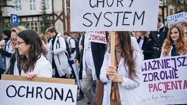 Protest zawodów medycznych / zdjęcie ilustracyjne