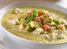 Zupa rybna z awokado - ugotuj