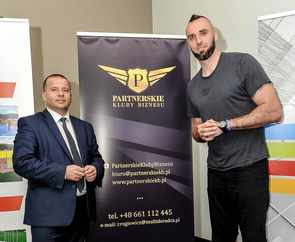 Marcin Gortat i R.Rogiewicz