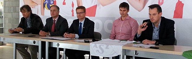 Konferecja prasowa Stowarzyszenia Częstochowska Siatkówka i Urzędu Miasta