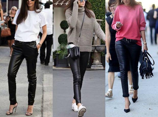 Skórzane spodnie - nie tylko dla fanek rocka