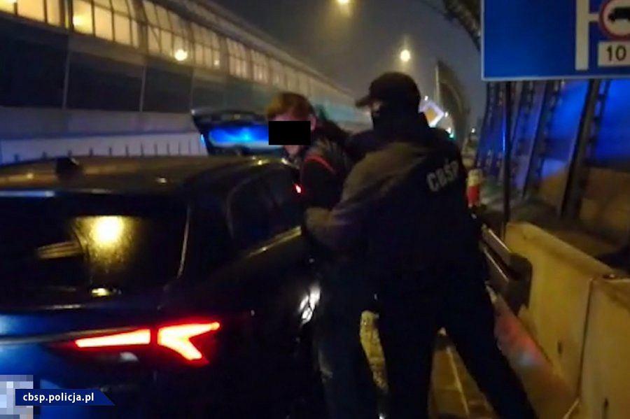 CBŚP zatrzymała przemytników narkotyków z Holandii
