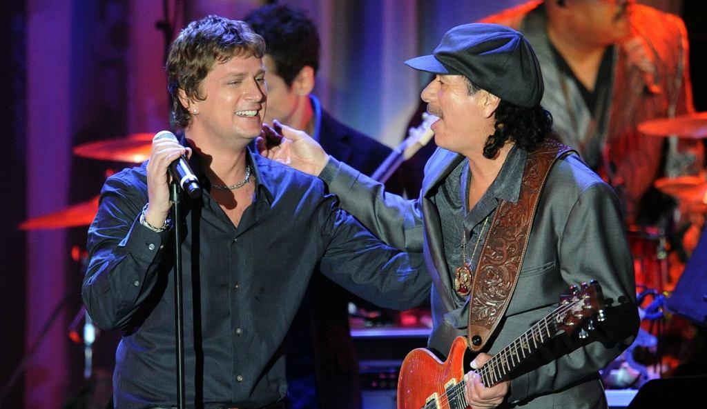 Carlos Santana i Rob Thomas