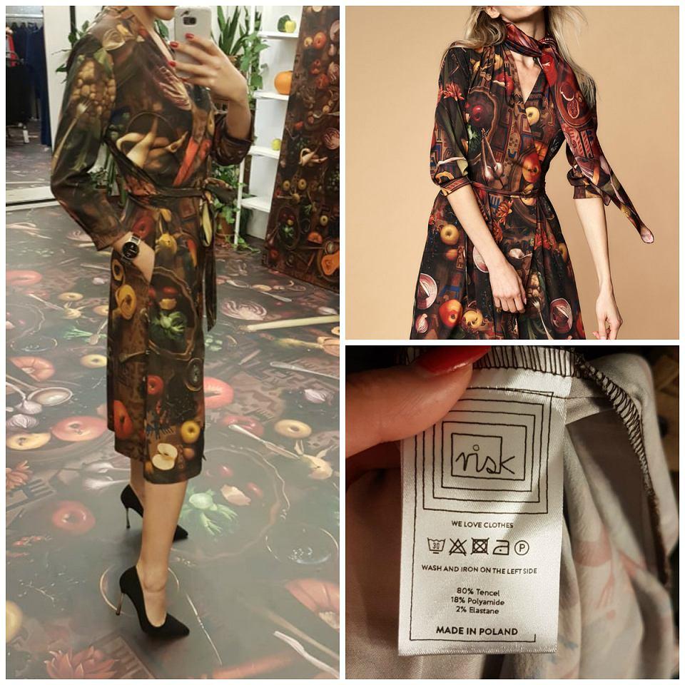 kopertowa sukienka Risk Made in Warsaw