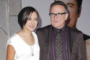 Zelda Williams i Robin Williams