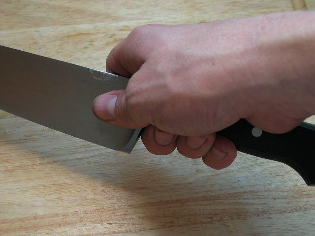 Nóż. Zdjęcie ilustracyjne