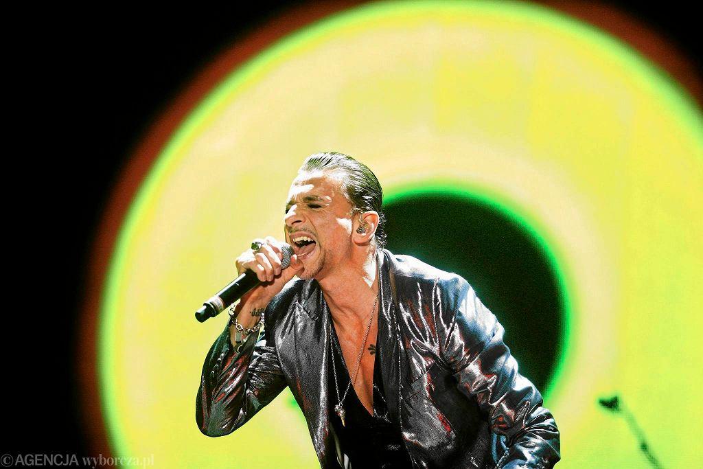Łodź, luty 2014. Koncert zespołu Depeche Mode w hali widowiskowej Atlas Arena. / TOMASZ STAŃCZAK