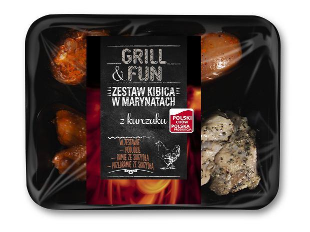 Duży wybór produktów na grilla w Lidlu