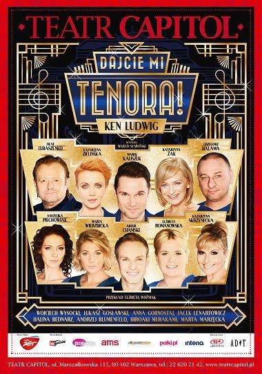 'Dajcie mi tenora!' w Teatrze Capitol