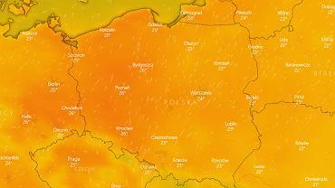 Pogoda. Fala ciepła nad Polską