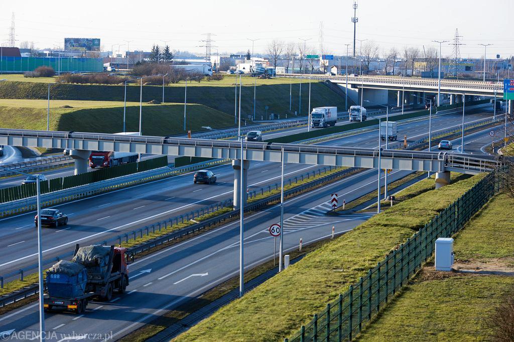Wypadek na A2 między Komornikami a Poznaniem. Autostrada zablokowana (zdjęcie ilustracyjne)