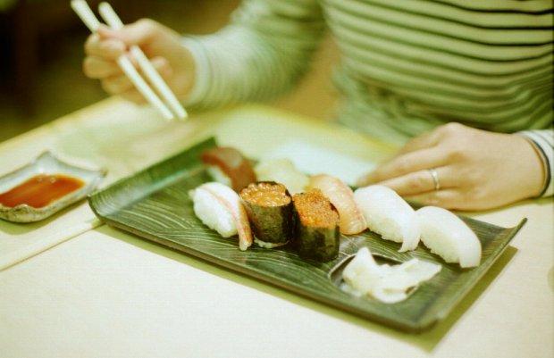 sushi, jedzenie,