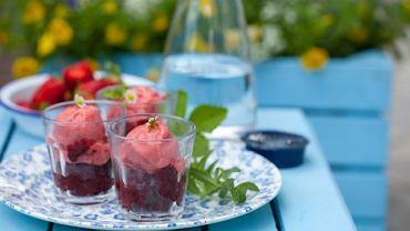 Błyskawiczne owocowe lody bez cukru